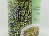 中高档珍珠奶茶原料批发富立唐/民忠绿豆罐头