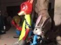 宣城六一迪士尼乐园出租疯狂动物城动漫展喜洋洋演出