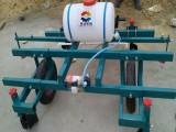 农用喷药覆膜机 英达大蒜覆膜机 多功能手扶扣膜机