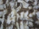 供应各类优质提花海派料 人造毛皮 提花长毛绒