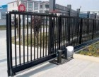 大港区庭院铁艺门 铁艺围栏 平移门安装