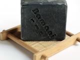 祛痘去黑头 控油收敛 巴玛尼 竹炭山羊奶凝脂手工洁面皂 100g