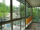 青岛修推拉门玻璃门折叠门 换玻璃换纱网 晒衣架 铝塑门窗