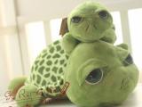 爱情公寓3同款正品绿色大眼龟公仔毛绒玩具小海龟可爱russ乌龟
