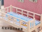实木儿童床女孩单人床松木男孩床带护栏婴儿床小孩床无漆环保