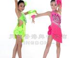 天魅新款儿童拉丁舞演出服女童拉丁舞比赛舞蹈服装练功服EL010
