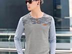 男士长袖T恤2014新款韩版修身圆领青少年秋季情侣潮男装纯棉衣服