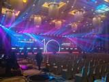 河源舞台设备租赁 舞台搭建租赁 视频LED大屏幕设备 桁架