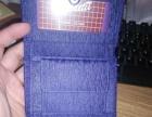 女款大象皮钱包,紫色泰国产,全新带发票