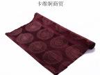 昌瓦金批发包邮真丝绸缎手工绣花进口薄型印度瓦拉拉斯好莫班布料