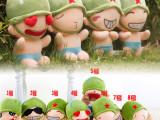 扬州厂家直销 小炮兵 公仔 毛绒玩具 炮炮兵小公仔 8种可爱表情