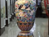 15英寸蓝地天鹅瓶 集历史文化艺术与工艺于一身