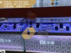 镀金小米2015新款手机柜台订做 苹果土豪款小米柜台最新价格