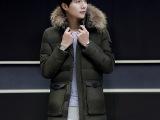 冬季棉衣2016新款男士加厚中长款棉袄外