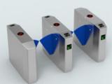 智能三辊闸系统 优质的智能桥式翼闸厂家直销