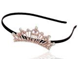 韩国韩版饰品时尚皇冠水钻水晶珍珠发箍发带头箍细头饰发夹批发