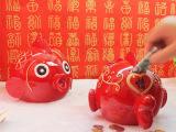 个性创意存钱储蓄罐创意鱼送儿童生日礼物摆件结婚礼品树脂摆件