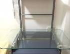钢化玻璃电脑桌,原价280,现在120流沙自提