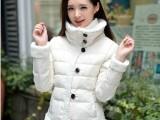 2014新款明星同款小时代3刺金时代羽绒服棉衣短款女棉