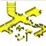 光纤槽 光纤线槽 光纤槽道 光纤走线槽 SLS-光纤槽道