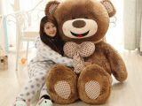 批发新品微笑可爱开心泰迪熊大抱熊毛绒玩具公仔婚庆生日情人礼物