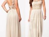 2014夏季新款欧美女装 雪纺连衣长裙白色镂空蕾丝大摆连衣裙