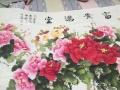 牡丹花一幅,画家出自杨海清,未表框。