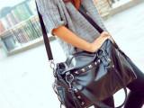 一件代发 2014韩国新款女包流苏复古PU包包时尚潮单肩斜跨包包