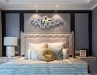 重庆室内设计轻奢风格卧室装修效果图 卧室风格装修就选轻奢风
