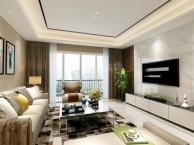 俊峰香格里拉洋房装修案例 天古设计师王林作品-现代简约风格