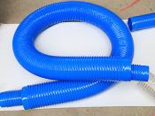 山东优良的通风管供应商费县蓝色螺旋软管批发