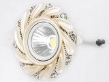 嵌入式 COB欧式天花灯  花纹树指天花射灯 大功率 灯具批发