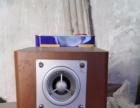 两个音响+vcd播放机80元