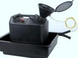 德国进口SCAT废液收集装置黑色PE-HD带盖漏斗带静电接地线防