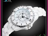 专业厂家 大量供应批发直销 时尚潮流高档外贸陶瓷合金女士手表