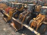 柳工龍工臨工二手30 50裝載機 小型裝載機 抓木機側翻鏟車