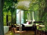 深圳酒店大型壁画定制厂家 酒吧KTV主题间背景墙3D工装壁纸