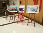 胡桃色1.45米松木三角画架厂家直销上海地区可出租