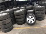 出售九成新二手拆車輪胎 回收輪轂 18寸以上