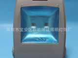 厂家直销100W双孔集成背包投光灯LED大功率泛光灯投光灯外壳配