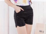 春夏新款韩版显瘦女士蕾丝外穿短裤大码百搭热裤三分打底裤子
