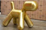 复古工业风格 英伦太空铝皮小狗椅 童趣铝壳小马椅 设计师家具