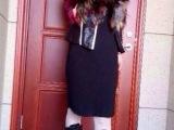 皮草经典款  彩色毛质皮草背心  高档狐狸毛无袖外套