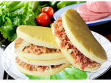 【厂价批发】 天健肉饼 速冻肉夹馍 早点冷冻食品