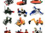 杰星积木 小颗粒拼装玩具 儿童益智拼插礼物 5-6岁以上