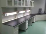 实验室钢木实验台操作台钢木中央台钢木实验台边台工作台