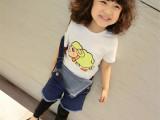 羊羊T恤2015夏季新款中小童女童时尚可爱卡通小羊短袖T恤