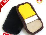 功能擦鞋手套 抛光手套皮鞋擦羊毛抛光手套皮革清洁护理 厂家批发