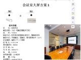 会议室大画面高精度无边框触控