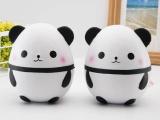 squishy熊猫慢回弹 PU星空熊猫蛋 pu减压玩具